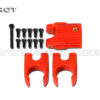 Tarot 16 MM carbon fiber fold mount set red TL68B28