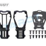 Tarot 25MM Alloy Dual Motor Mount Black TL96032