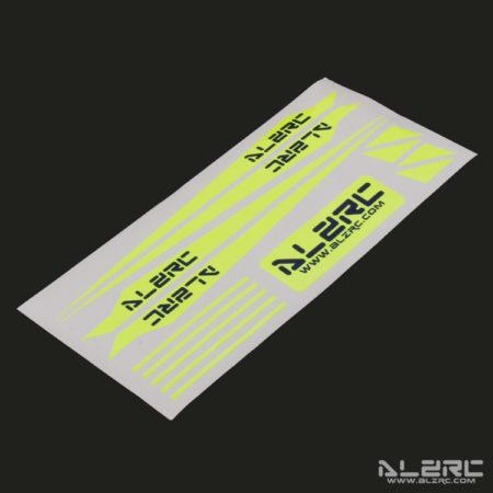 Devil 505 FAST Carbon Fiber Landing Skid Color Sticker - Yellow
