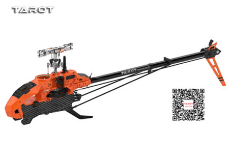 TAROT 600 PRO RC HELICOPTER KIT BARE BONES