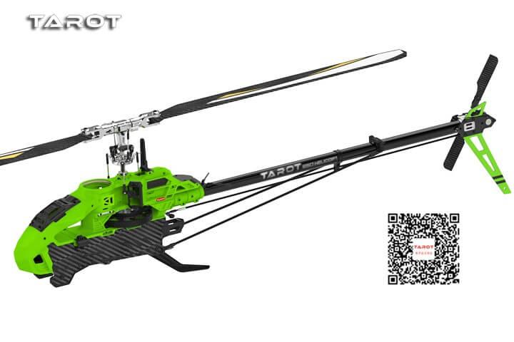 Tarot 550 Pro RC Helicopter Combo Kit MK55PRO
