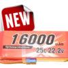 Alpha RC 16000MAH 25C 6S Lipo
