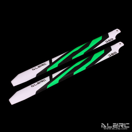 Carbon Fiber Blades - 360mm - Painting - Green