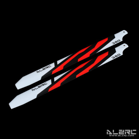 Carbon Fiber Blades - 360mm - Painting - Red