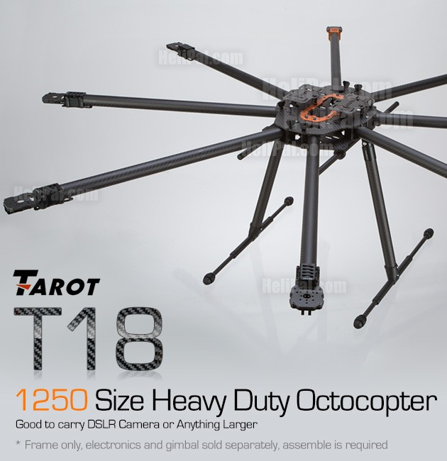 Tarot T18 Octocopter