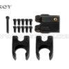 Tarot 16 MM carbon fiber fold mount set Black TL68B27