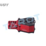 Tarot 25MM Alloy Dual Motor Mount Red TL96033