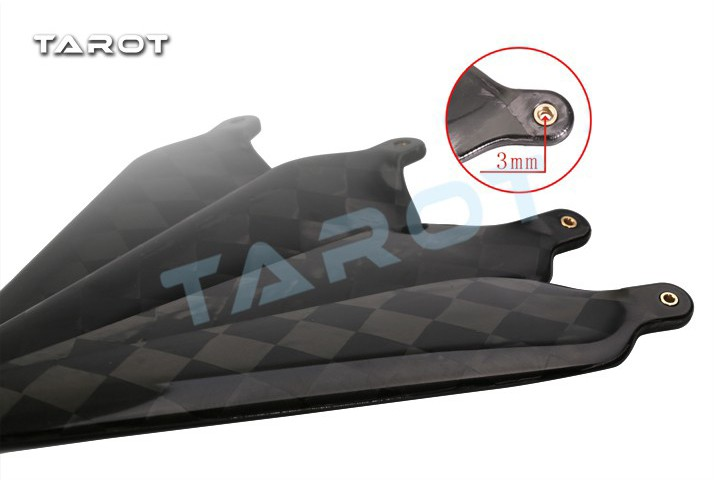 Tarot-19.5-inch-folding-carbon-fiber Propeller