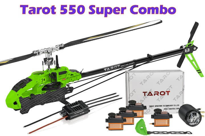 Tarot RC Heli 550 Super Combo Kit